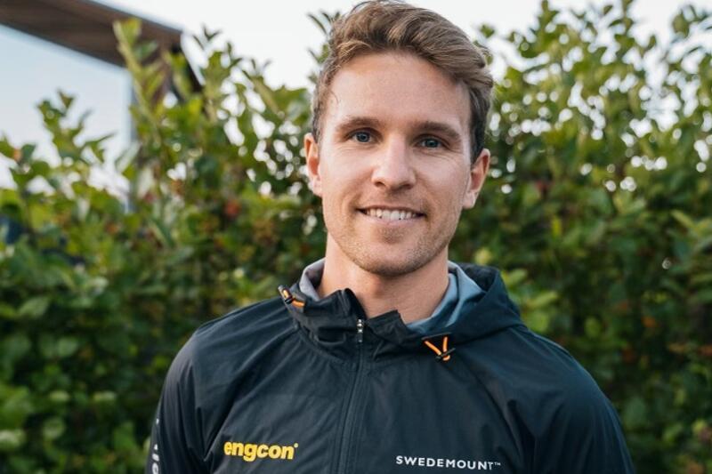 Didrik Tönseth satsar mot OS men blir också en del i svenska långloppslaget Team Engcon. FOTO: Team Engcon.