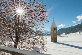 Här kommer nya Visma Ski Classics-loppet Reschenseerennen att genomföras i vinter. Loppet flyttas från söndag till lördag och La Venosta stryks i programmet. FOTO: Visma Ski Classics/Magnus Östh.