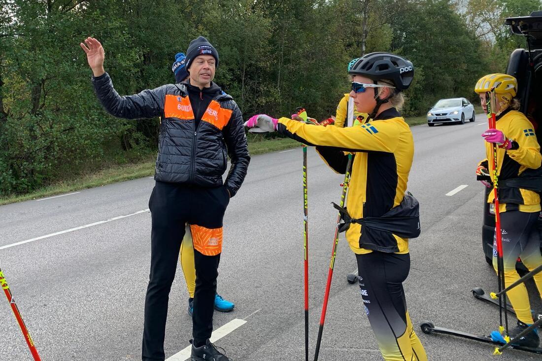 Mattias Reck intervjuas i Visma Ski Classics podcast Orsa2Levi i morgon. FOTO: Johan Trygg/Längd.se.