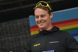 Torgeir Sulen Hovland vann Värnamorullen efter en stark finish. FOTO: Johan Trygg/Längd.se.