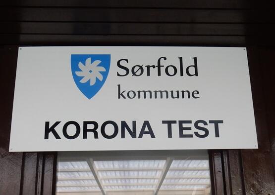 Teststasjon ved legekontoret