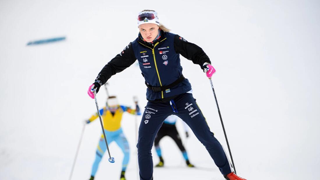 Linn Svahn tvingas till operation för sin axelproblematik. FOTO: Bildbyrån.