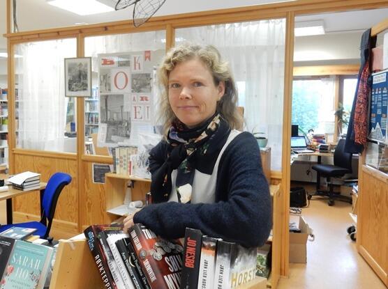 Sylvia Bredal er fungerende bibliotekleder