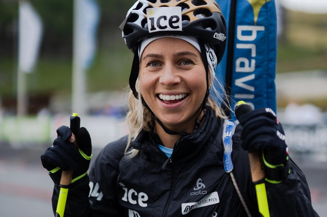 Tiril Eckhoff är Norges mest populära kvinnliga idrottare i augusti. FOTO: Christian Haukeli.