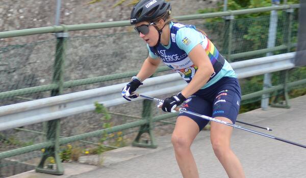 Ebba Andersson har en sommar med mycket bra träning bakom sig. FOTO: Johan Trygg/Längd.se.