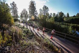 På söndag är det dags för nio mil långa Klarälvsloppet på rullskidor. Loppet sänds live här på Längd.se. FOTO: Klarälvsloppet.