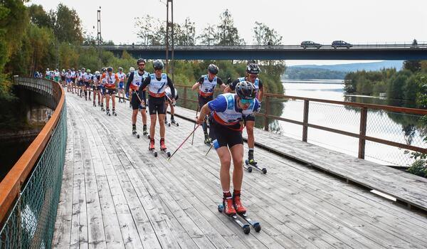 Se höjdpunkterna från elitklasserna i Klarälvsloppet på videon nedan. På bilden är det Team Curiras Klas Nilsson i front. Klas blev tionde man och andre svensk i loppet. FOTO: Tony Welam/Klarälvsloppet.