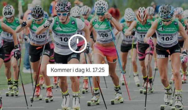 Se Therese Johaug, Marit Björgen, Andreas Nygaard, Tord Asle Gjerdalen, Hans Christer Holund med flera på Ragde Charge opp Tryvann från 17.25 på spelaren nedan.