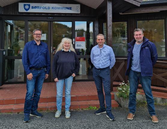 NK-nett i møte med Sørfold kommune