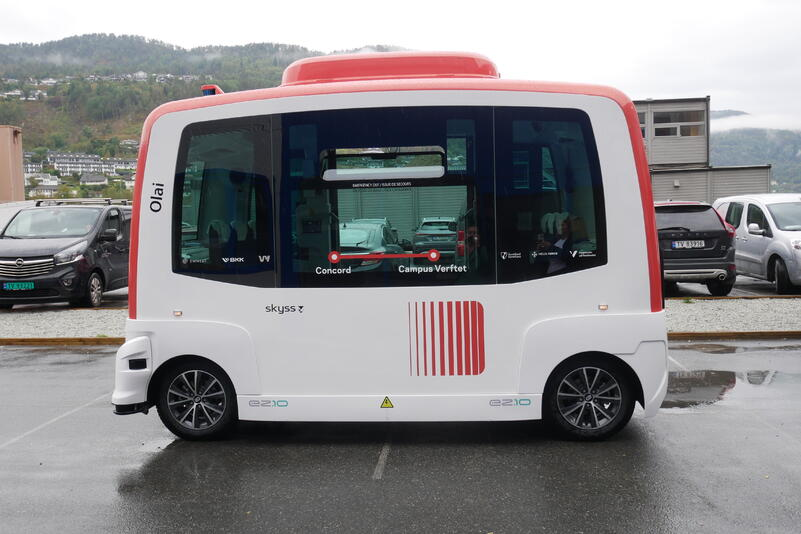 Olai - Skyss sin første sjølvkøyrande buss