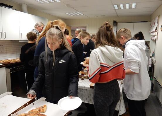 Ungdomsklubb på Bakeriet i 2017