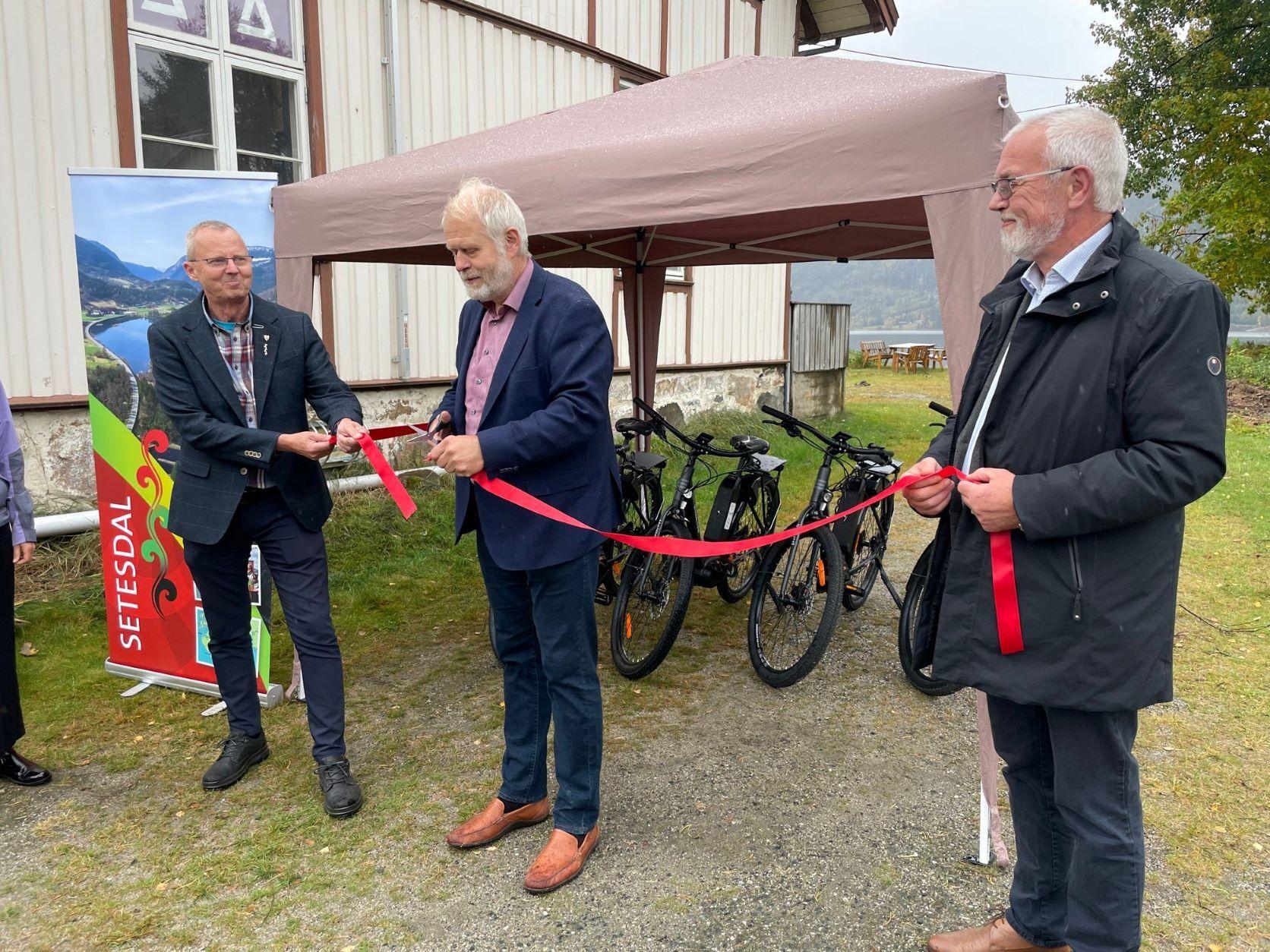 Opning av Setesdal e-bike