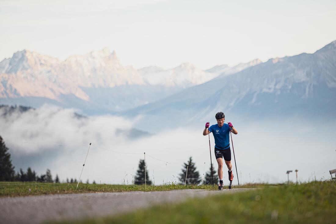 Axel Ekström satsar mot OS i Peking på egen hand, utanför landslagsverksamheten. FOTO: Johannes Fredheim.
