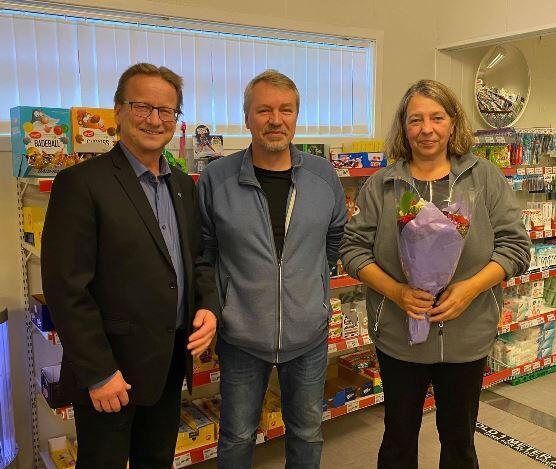 F.v. Gisle Hansen, Svein Martin Bækkevold og Eva Borgan, foto Liv Reffhaug