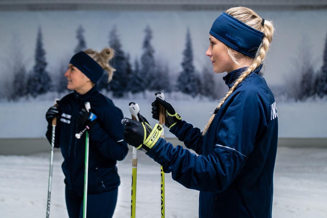 På lördag öppnar Skidome i Göteborg och välkomnar alla som är sugna på att åka skidor på snö. FOTO: Relai Studios för Skidome.