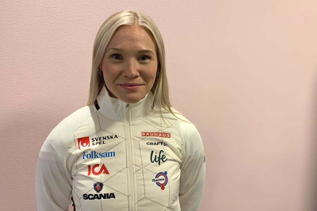 Jonna Sundling har haft ett par sjukdomsperioder i slutet av sommaren och början på hösten som stört i OS-uppladdningen. FOTO: Johan Trygg/Längd.se.