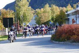 Du kan se några ur den norska eliten köra på över 15 kilometer rullskidor på lördagen. FOTO: Arrangören.