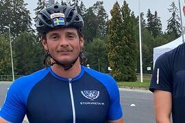 Jonathan Hedbys solovann drygt fyra mil långa Gålörullen på söndagen. FOTO: Storvreta IK.