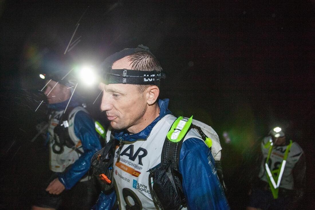 Oskar Svärd styrde Swedish Armed Forces Adventure Team rätt väg när de tog VM-guldet i multisport i Spanien. FOTO: Anton Torstensson.