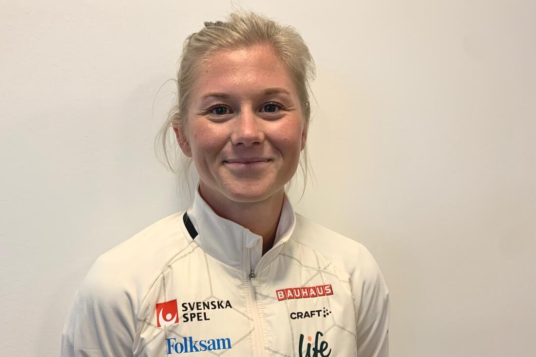 Att lyckas individuellt på OS är en stor drivkraft för Maja Dahlqvist. FOTO: Johan Trygg/Längd.se.