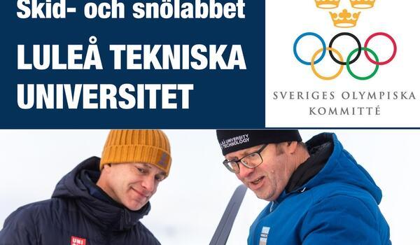 Skid- och Snölabbet vid Luleå tekniska universitet vill få in så många svar som möjligt på en enkät kring erfarenheter av skidglid/friktion. FOTO: Luleå tekniska universitet.