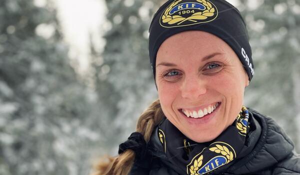 Lina Korsgren byter från Åre Längdskidklubb till moderklubben Korsnäs IF. FOTO: Korsnäs IF.