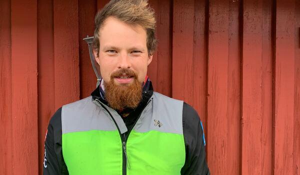 Runar Skaug Mathisen är en norsk profil i Visma Ski Classics som i vinter representerar svenska Lager 157 Ski Team. FOTO: Johan Trygg/Längd.se.