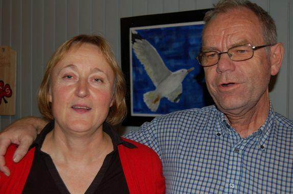 Ny ordfører Eva D. Husby sammen med ny varaordfører Gunnar Mauseth