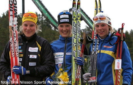 Hanna - Therese - Lina, foto: Erik Nilsson Sports Management
