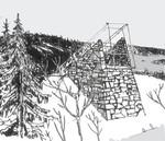 Skisse av ovarennet i Midtstubakken: Arkitekt Atle Røvig, ØKAW arkitekter
