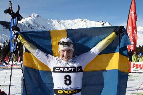 HANNA BRODIN fick sista VM-platsen. Foto: CATHRINE ENGMAN