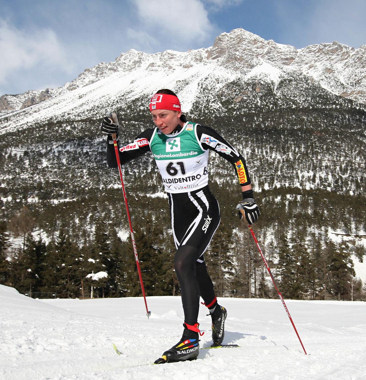 JUSTYNA KOWALCZYK är titelförsvarare och favorit att ta hem världscupen även den här vintern. Foto: newspower.it