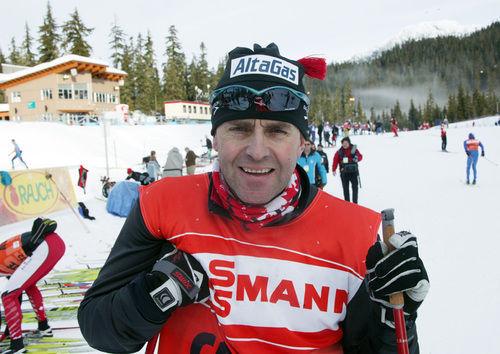 ARILD MONSEN på nästa års OS-arena i Whistler. Nu kommer han kanske tillbaka - som svensk sprinttränare… Foto: KJELL-ERIK KRISTIANSEN