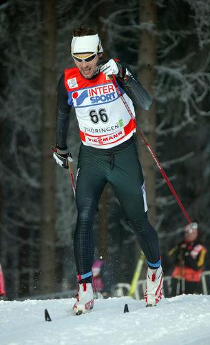 JONAS THOR OLSEN kan mer än att åka skidor. Här från vinterns Tour de Ski. Foto: MOA MOLANDER KRISTIANSEN, www.kristiansen-sport.com