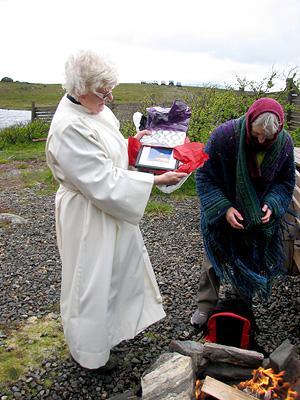 Friluftsgudstjeneste på Kvithellan