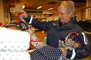 Salg på strikkefabrikken