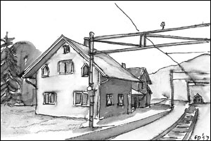 Sandermosen stasjon; Frances Dodman