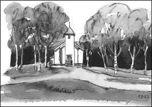 Maridalen kirke; Frances Dodman
