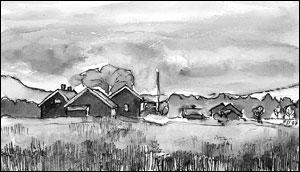 Husmannsgrenda Neskroken; Frances Dodman