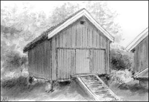 Stabbur Vaggestein; Målfrid Voll