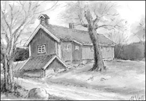Sander gård; Målfrid Voll